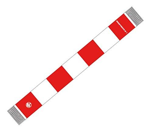 Flaggenfritze Schal 1. FC Kaiserslautern - 15 x 140 cm + gratis Aufkleber