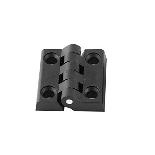 Bisagra Plana Plegable 10 Uds Bisagras Bisagras De Plástico De Nailon De Color Negro Para Muebles De Caja De Madera Armario Eléctrico Durable-50