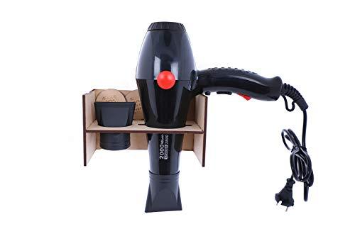 SHREY & SANK 2000 watts choba professional hair dryer with Wooden Stand 2800 black unisex multipurpose hot and cold hair dryer with Wooden Stand Set