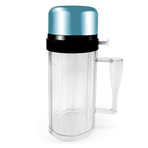 CandyTT Copa combinada para Discoteca Dice Pub Beer Glass KTV Colorful Cup Dice Cup (Azul)