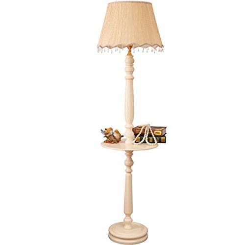 Vloerlamp salontafel tafel staande lamp, kleine tafel woonkamer verlichting Creative nachtkastje lamp slaapkamer landelijke praktische vloerlamp LED