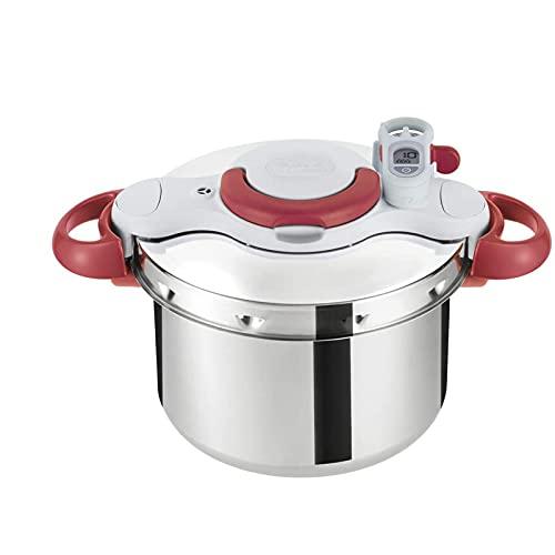YFGQBCP Robot Cocina Cocina de presión, Temporizador de la Olla de presión, Cocina de inducción de Gas con vaporizador