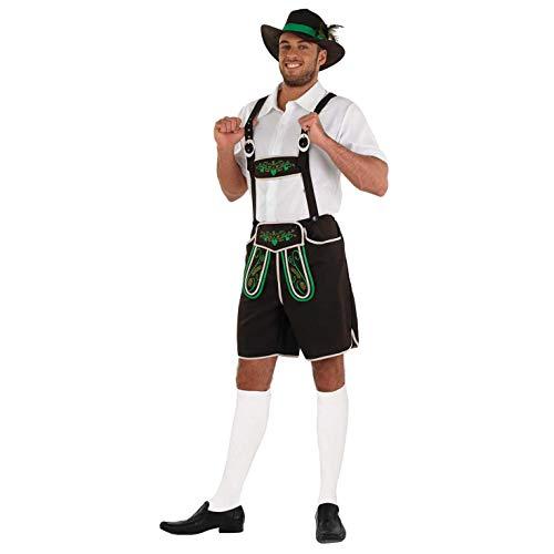 Fun Shack Marrn Traje De Bvaro Disfraz para Hombres, Disfraz Oktoberfest - L