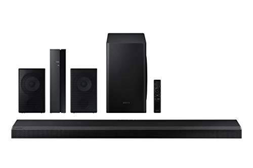 Samsung HW-Q70T 3.1.2 Ch Dolby Atmos Soundbar with Wireless Subwoofer with a Samsung SWA-9000S...