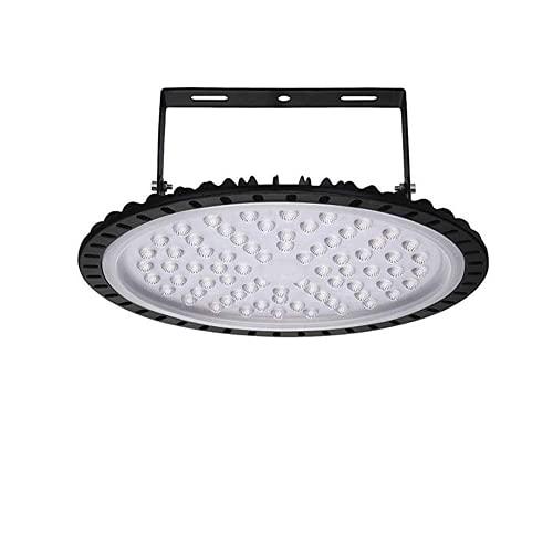 UFO LED Iluminación, 100W 120 grados Lámpara Industrial Ultra Delgada,Lámpara Industrial de Blanco Frío 6000-6500K, 10000Lm (300W, 1Pack)