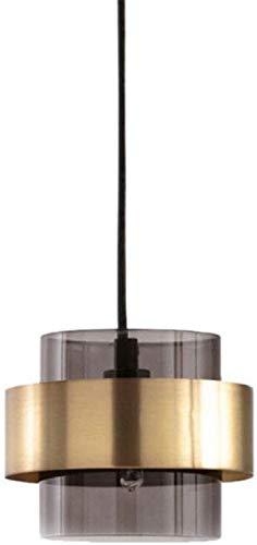 Moderne plafondlampen hanglampen met gloeilamp, ronde grijze hanglamp van glas voor de eettafel, kroonluchter van metaal G4 voor eetkamer, slaapkamer en woonkamer