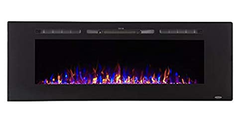 Touchstone Sideline Rececced Electric Fireplace