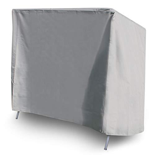 bonsport Premium Schutzhülle für Hollywoodschaukel - Abdeckung für Gartenschaukel, wasserdicht | Universal einsetzbar 240 x 150 x 135 cm