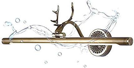LED Vintage Badkamer Spiegel Lamp Messing Gewei Spiegel Licht Antiek Ip44 Waterdicht Hoek Verstelbare Make-up Licht Kast L...