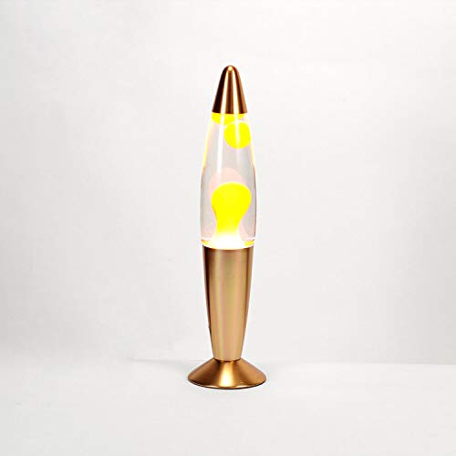 Lámpara de lava Naranja claro a:36cm Ø8,6cm Retro fiesas Juvenil Sala de estar Timmy