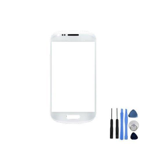 BisLinks® Für Weißer Oberteil Ersatzglas Für Samsung Galaxy S3 Mini i8190