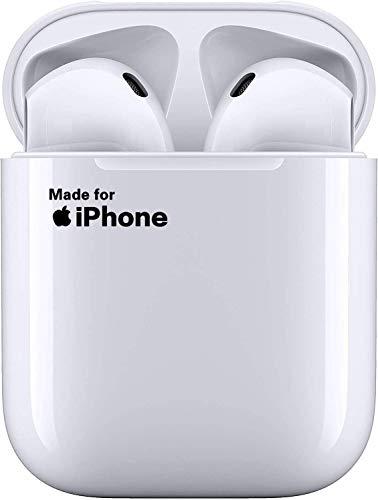 Auriculares inalámbricos Bluetooth 5.0 Auriculares intrauditivos Auriculares Deportivos IPX5 Sonido de Alta fidelidad con Estuche de Carga portátil para Airpod Android iPhone