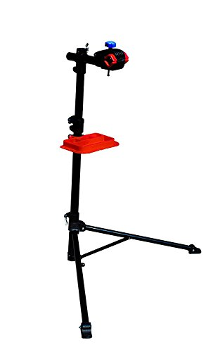 Power Bike Pro Mechanic Bike Repair Stand Adjustable Height Bicycle Maintenance Rack Workstand With Tool Tray, Telescopic Arm Cycle