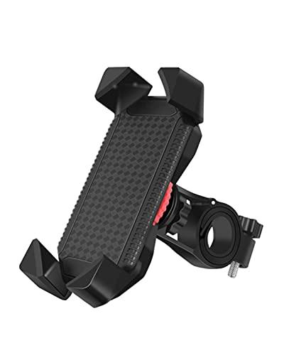 PRITECH Soporte Movil Bicicleta, 360° Rotación Soporte Movil Moto /Bicicleta. (3.5'-6.5' Smartphones)