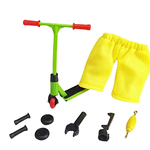 Tawohi Finger Scooter Set, Mini Finger Toys, Tablas de Dedos con Herramientas de Scooters - Pack 1 Finger Toy for 6+ Years Old Kid