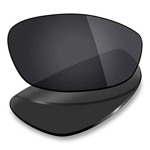 Mryok Lentes de repuesto para Arnette Stance AN4020 - Opciones, Polarizado, negro sigiloso., Talla única