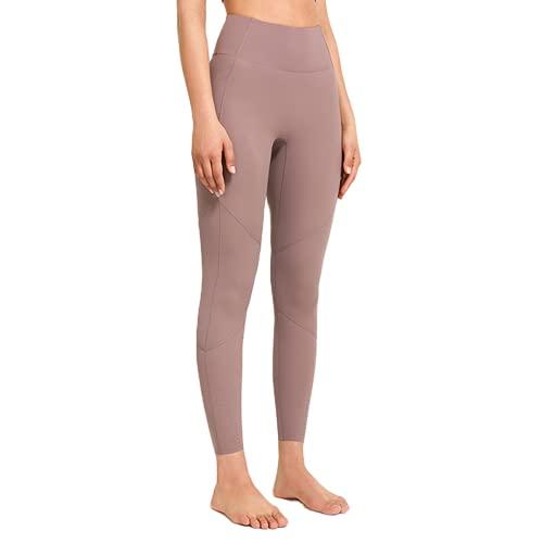 Pantalones de Yoga sin Costuras para Mujer Push-ups Celulitis Pantalones de Fitness para Correr Yoga Leggings de Entrenamiento de energía de Cintura Alta B M