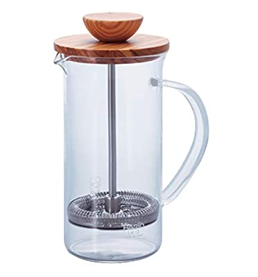 Hario Olivewood Coffee and Tea Press, 300ml