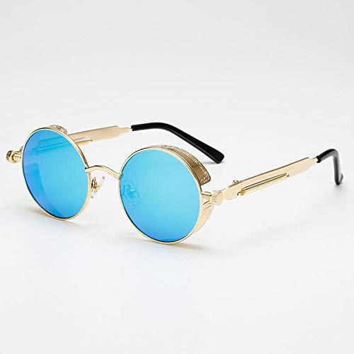Sunglasses Mode Runde Steampunk Sonnenbrille Design Frauen Männer Vintage Steam Punk Sonnenbrille Uv400 Shades 06