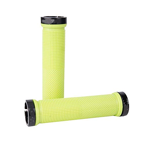 FICI 2 Paar Anti slip grips fiets Fietsen Afsluitbare Handvat Grips voor MTB Vouwen Bike Stuur fiets onderdelen