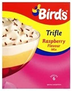 Birds Trifle Raspberry. 144g Full kit Trifle serves 6. Classic from the UK