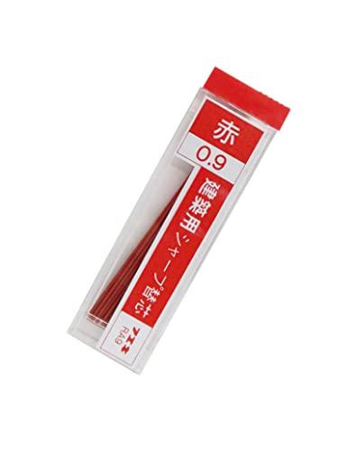 不易(フエキ) 建築用シャープペンシル0.9mm替芯 赤 15本入