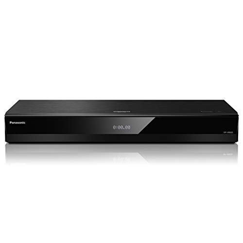 Panasonic 4K Ultra HD Blu-ray Player with HDR10+ and Dolby Vision Playback, Hi-Res Sound, 4K VOD Streaming - Black (DP-UB820)