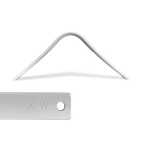 WINTEC EASY-CHANGE Kopfeisen, einzeln, weiß, extra-weit weiß, one size