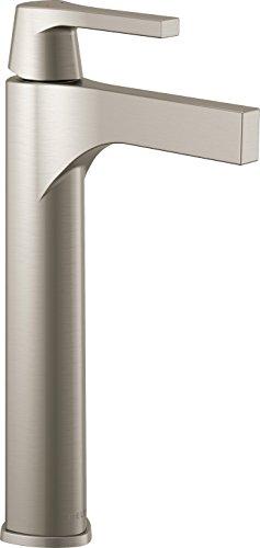 Delta Faucet 774-SS-DST, Stainless Zura Single Handle Vessel Lavatory Faucet