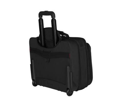 Wenger 600659 – Tranvía maletines para portátil de 17″, Negro, 42 x 35 x 25 cm, 24 litros