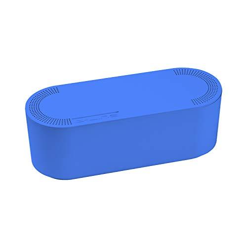 D-Line EU/CTUSMLC/SW - Caja Organizadora de Cables, Azul, Pequeña