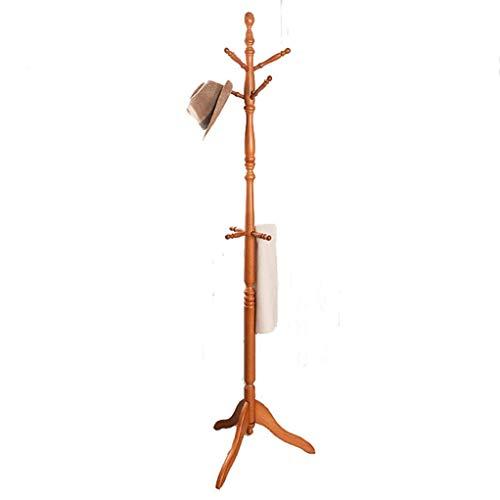 CAIJINJIN Perchas Perchero Ropa que cuelga del estante soporte autoportante Perchero árbol de navidad de soporte Estante de la capa con el estante for la chaqueta paraguas de vestir sombreros y bolsos