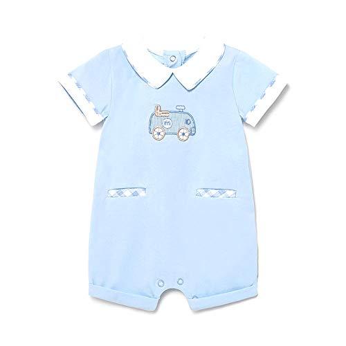 Mayoral Pelele Punto Corto Bebe Niño Azul (4 a 6 meses)