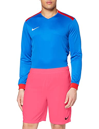 Nike Park II Knit Short NB Pantalón corto, Hombre, Rosa/Negro (Vivid Pink/Black), L