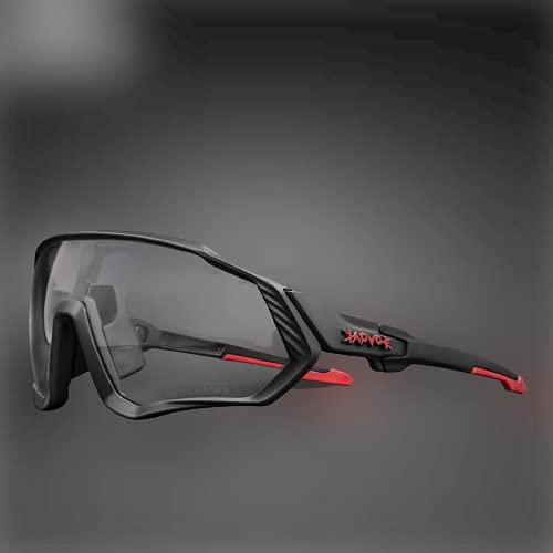 Óculos de Ciclismo KAPVOE, Óculos Fotocromáticos, Óculos de Sol Esportivos para Homens e Mulheres Armação Tr90 Proteção UV400 (03)