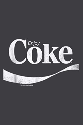 Coca Cola Vintage Enjoy Coke White Logo Graphic: Plan Your Day In...