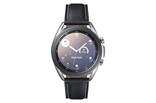 Galaxy Watch3 41mm Stainless/シルバー [Galaxy純正 国内正規品]SM-R850NZSAXJP