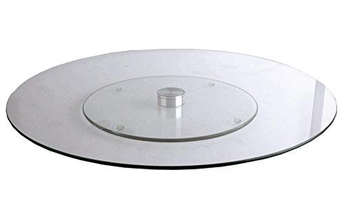 Kuchenteller Tortenplatte Glas drehbar Tortenteller Drehteller Kuchenplatte