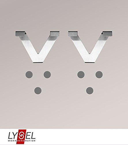LYSEL® Set Haken für Flexoschiene Breite: 9.50cm Höhe: 6.50cm