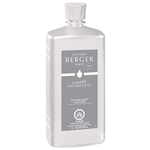 Lampe Berger Summer Night Fragrance Refill for Home Fragrance Oil Diffuser - 33.8 Fluid Ounces - 1 Liter
