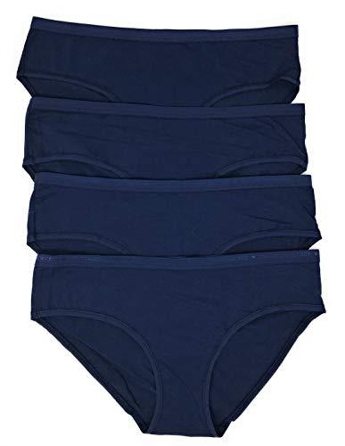 Victoria's Secret Hiphugger Panty 4er Set -  Blau -  Medium