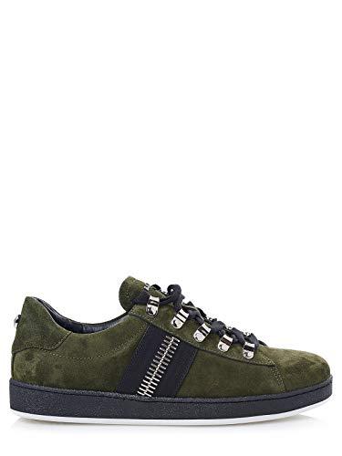 Balmain Sneaker Eric, Grün - khaki - Größe: 40 2/3 EU