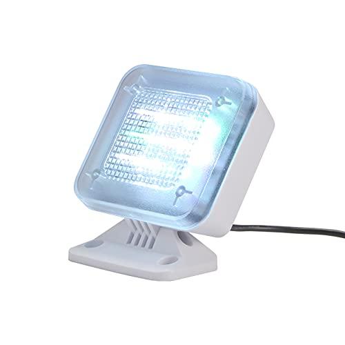 Simulador de luz de TV, Televisor de Seguridad Falso simulado de Seguridad para el hogar SUNAQ con Temporizador de Sensor de luz Incorporado, Dispositivo disuasorio para la prevención del delito.