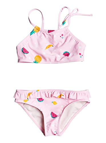 ROXY LOVELY ALOHA CROP TOP SET Zwemkleding filles Roze/Shadow/Fruit/Salad Bikini