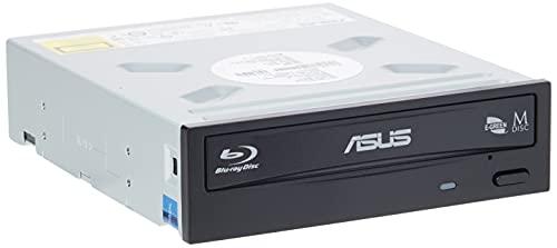 Asus BW-16D1H Masterizzatore Interno Blue Ray, velocità di scrittura 16X, Supporto M-Disc (Versione con Scatola)