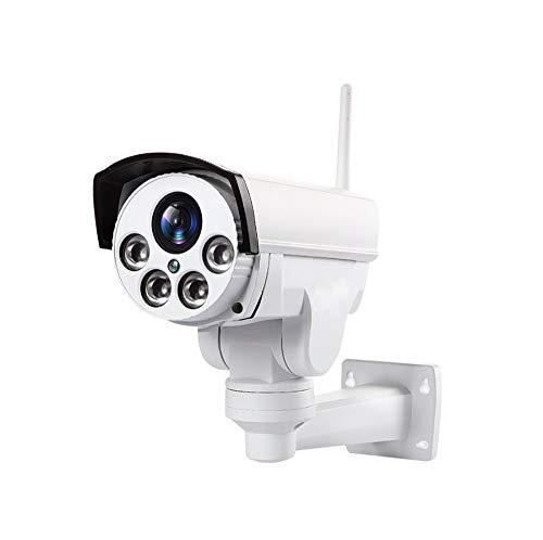 Outdoor PTZ 2.4G WiFi Security Camera Wireless Bullet Surveillance Camera HD 1080P Pan/Tilt