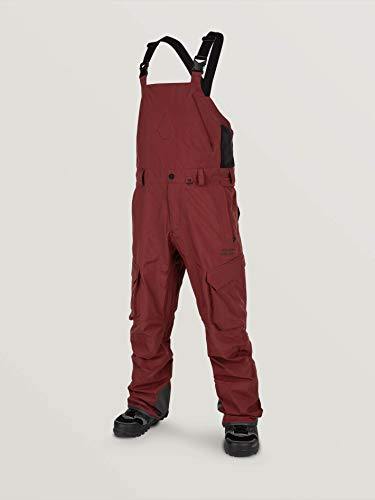 Volcom 3L Gore-Tex Overall Brassière Homme Burnt Red M