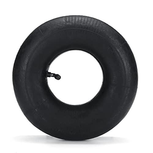 WZCXYX 4.80/4.00-8 Carretilla De La Rueda Neumática De La Rueda Interna De Goma Curvada/De Boca Recta para Neumáticos De 2,50 X 8 Pulgadas De Pulgadas