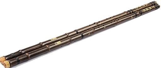 OrientalMusicSanctuary Purple Bamboo (Black Bamboo) 8-hole Xiao - Chinese Shakuhachi Xiao Flute