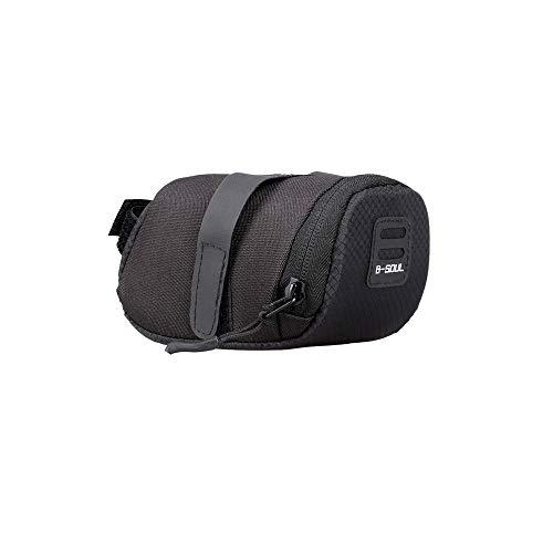duquanxinquan wasserdichte Rahmentasche Fahrrad Satteltasche Fahrradtasche Tasche Mountainbike Bag Satteltasche Radfahren für Mountainbikes, Fahrräder, und Rennräder (Black)